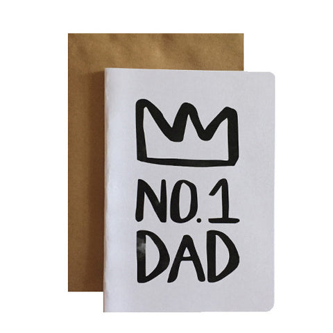 No.1 Dad Greeting Card