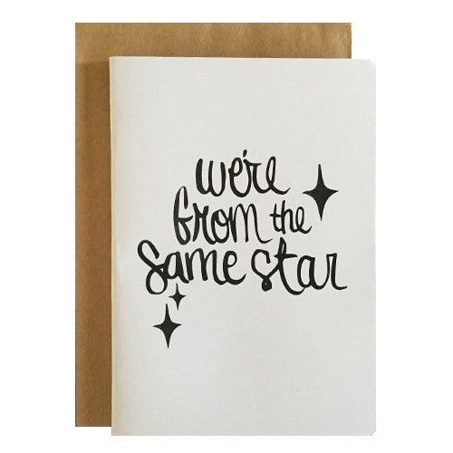 Hand lettered greeting cards