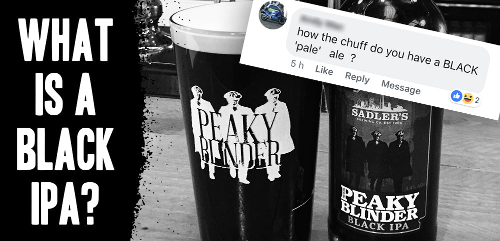 How the chuff can you have a Black IPA?