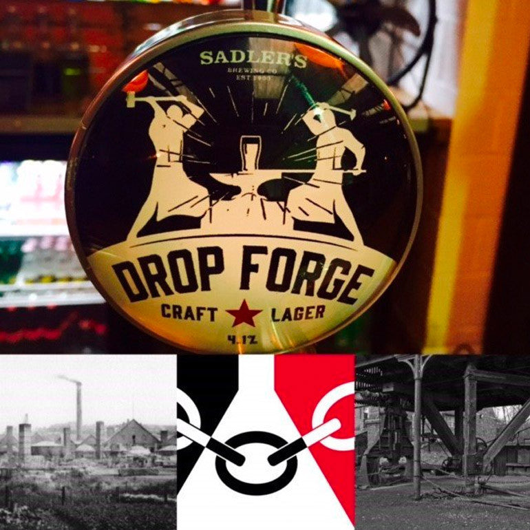 Drop Forge Craft lager forged in the Black Country