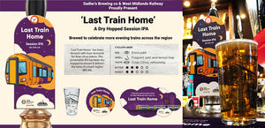 New Beer 'Last Train Home' Now Available in Birmingham City Centre
