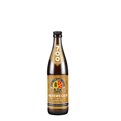ABK Hefeweizen 12 500ml Bottle Case