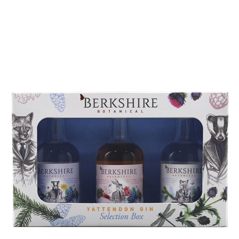 Berkshire Botanical Gin 5cl Minatures Selection Box