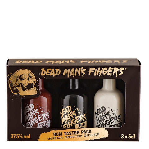 Dead Man's Fingers Miniature Gift Set Spiced, Coconut, Coffee