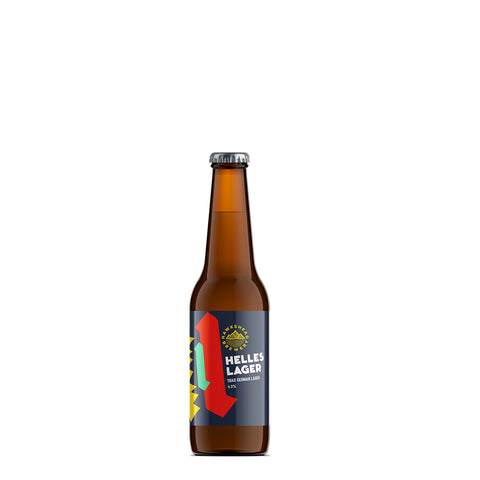 Hawkshead Helles Lager 12 330ml Bottle Case