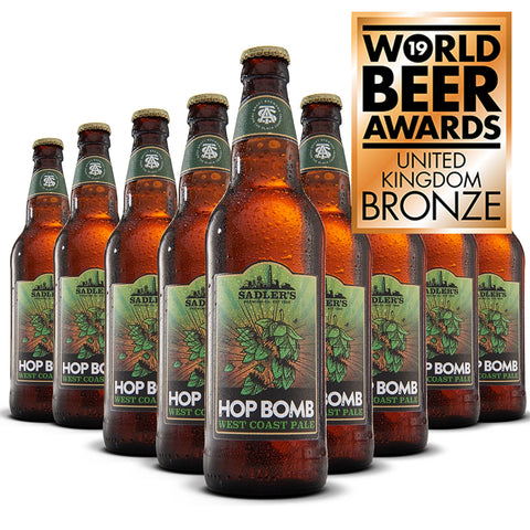 Sadler's Hop Bomb West Coast Pale Ale 12 500ml Bottle Case