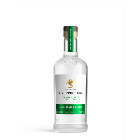 Liverpool Organic Lemongrass & Ginger Gin - thedropstore.com