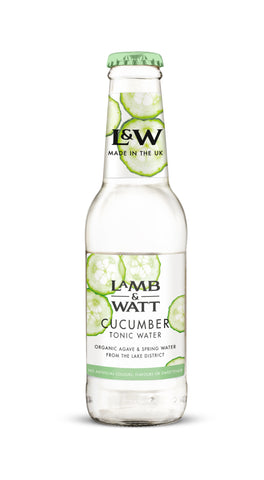 Lamb & Watt Cucumber Tonic Water (Pack of 12)
