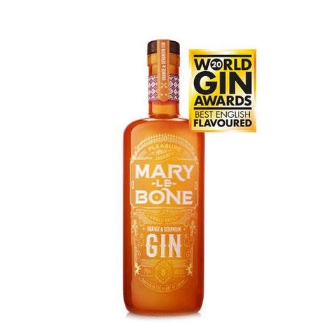 Mary-Le-Bone Orange & Geranium Gin - thedropstore.com