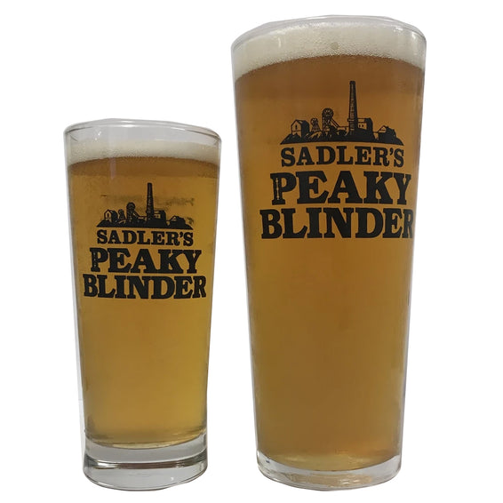 Sadler's Peaky Blinder Beer Glasses