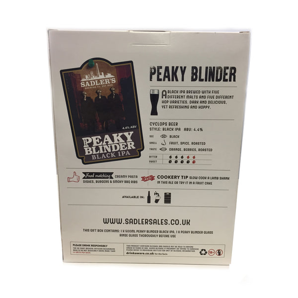 Sadler's Peaky Blinder Black IPA Gift Set