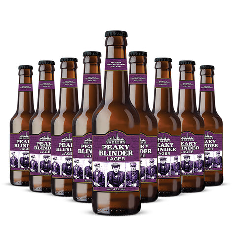 Sadler's Peaky Blinder Craft Lager 12 330ml Bottle Case