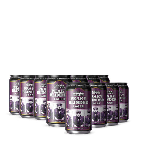 Sadler's Peaky Blinder Craft Lager 24 330ml Cans