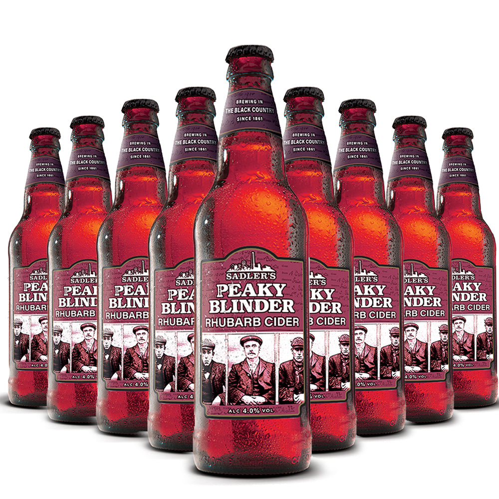 Peaky Blinder Rhubarb Craft Cider  - 12 Bottle Case
