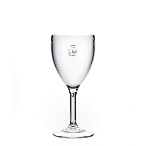 Polycarbonate Wine Glasses Pack of 6