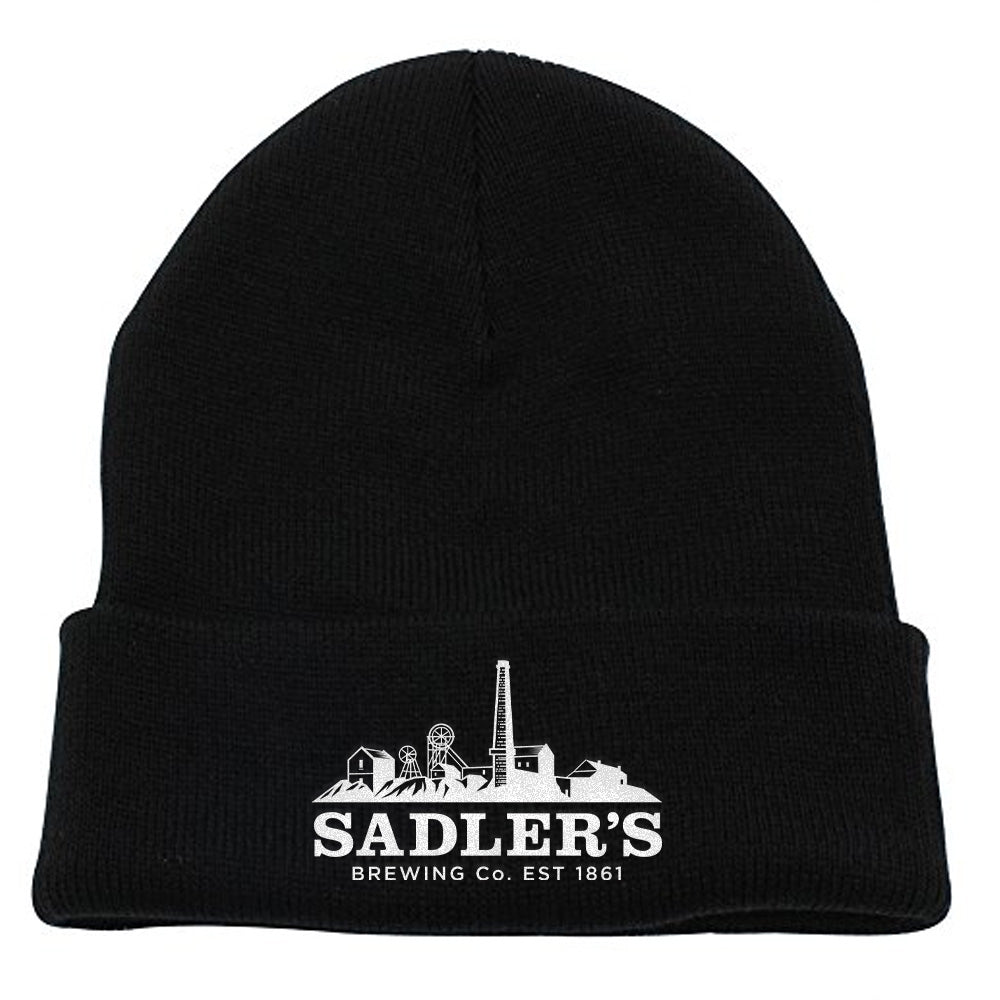 Sadler's Brewing Co. Black Beanie
