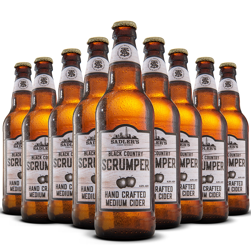 Scrumper Original Craft Cider  - 12 Bottle Case