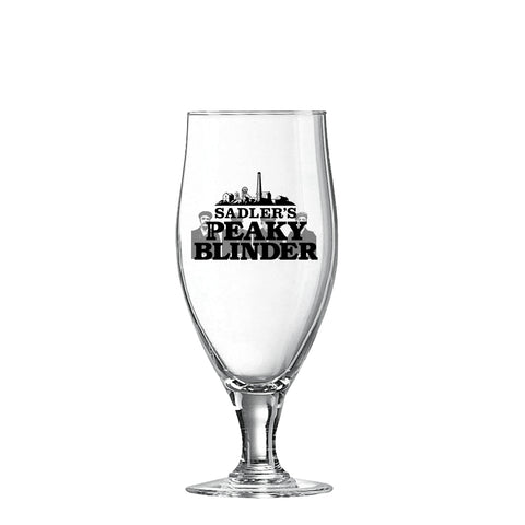 Sadler's Peaky Blinder Goblet Glass (Pack of 3)
