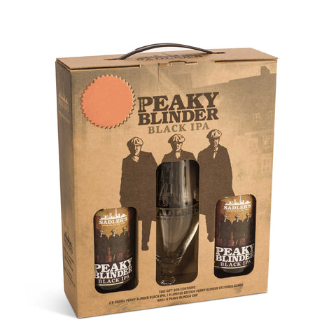 Sadler's Peaky Blinder Black IPA, Glass and Cap Gift Pack
