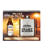 Sadler's Peaky Blinder Irish Whiskey Miniature & Hip Flask Gift Set