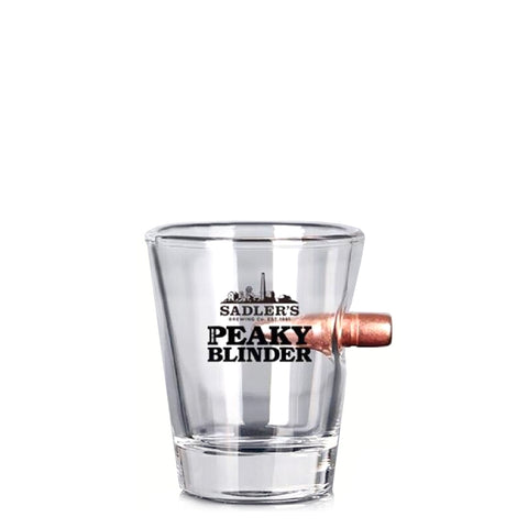 Sadler's Peaky Blinder Bullet Shot Glass