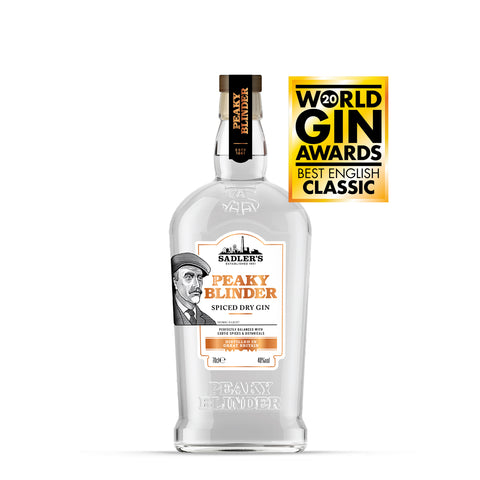 Sadler's Peaky Blinder Spiced Dry Gin - Thomas Gilbert