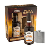 Sadler's Peaky Blinder Black Spiced Rum & Hip Flask Gift Set