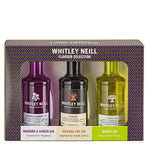 Whitley Neill Gin Tasting Gift Pack of 3 Miniatures - Original Dry Gin, Rhubarb & Ginger, Quince - Sadler's Peaky Blinder