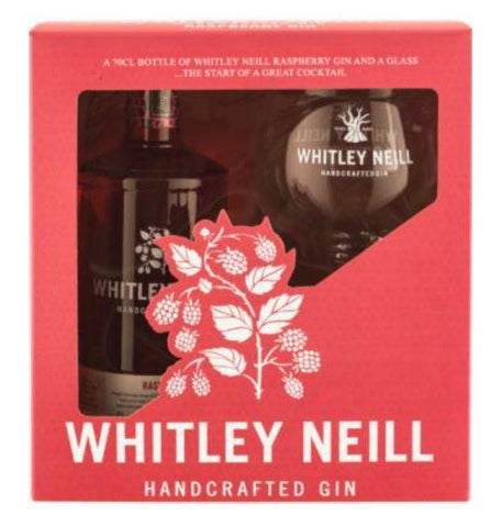 Whitley Neill Raspberry Gin Gift Pack with Glass - Sadler's Peaky Blinder