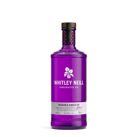 Whitley Neill Rhubarb & Ginger Gin - thedropstore.com