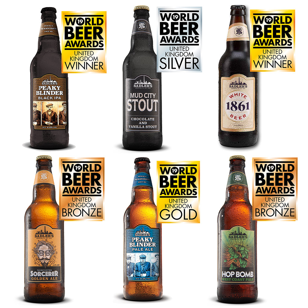The Beer Adventurer - Sadler's Craft Beer Mixed 12 Pack