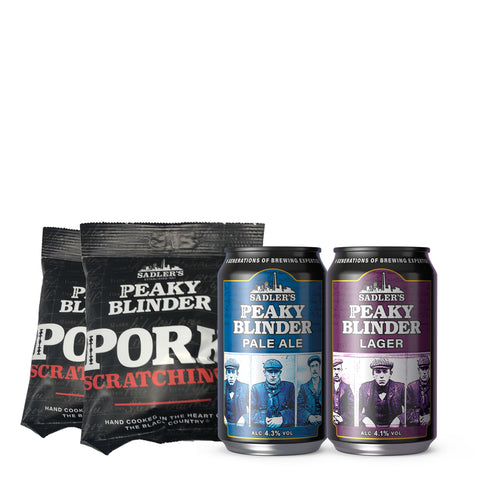 Classic Black Country Beer Pack - 36 cans + Pork Scratchings for £33