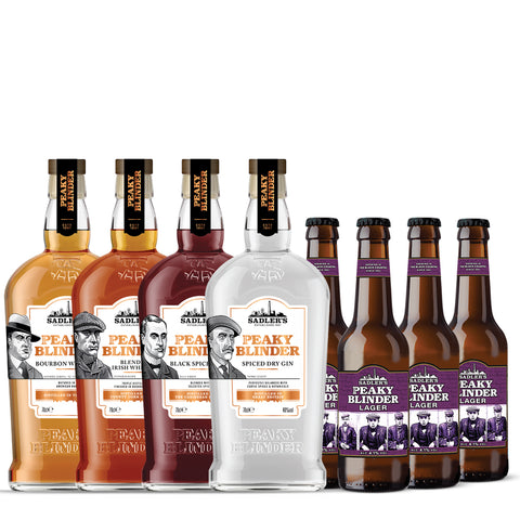 Sadler's Peaky Blinder Spirit + 12 Bottles of Lager Offer