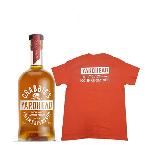 Yardhead Single Malt Whisky + Free T-Shirt