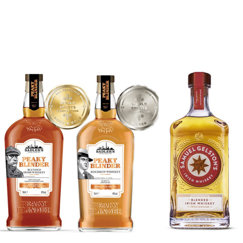 World Whiskey Bundle- 3 Bottles for £45!