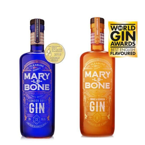 Marylebone Gins 70cl 2 for £35!