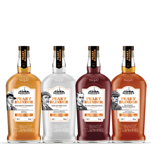 3 Bottles of Peaky Blinder Spirits