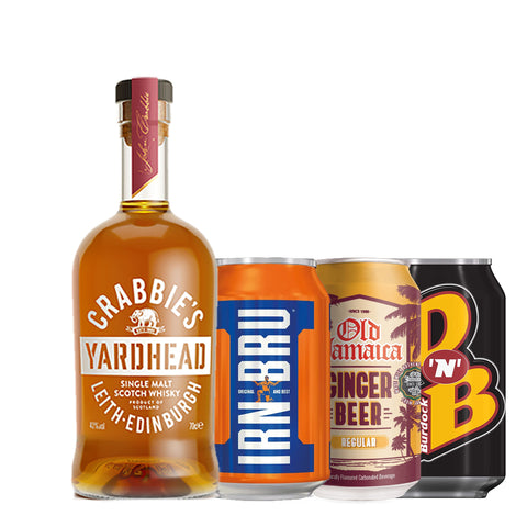 Yardhead Scotch Whisky + 3 Retro Soft Drink Mixers