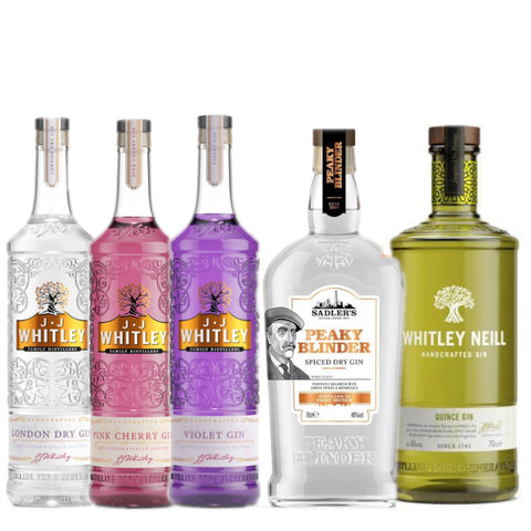 3 Bottles of Gin for £48!