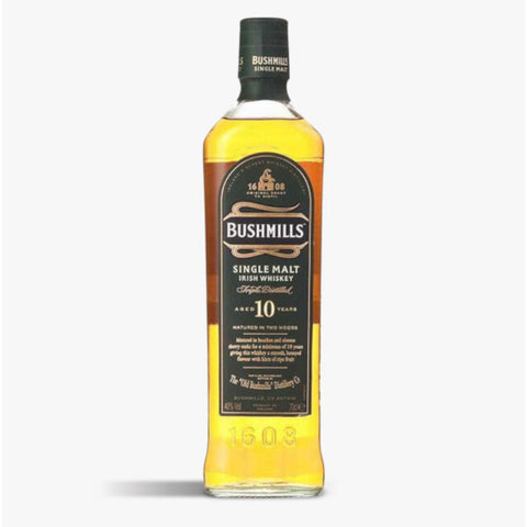 Bushmills Single Malt 10 Year Old Irish Whiskey