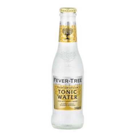 Fever Tree Premium Indian Tonic Water (Pack of 12)