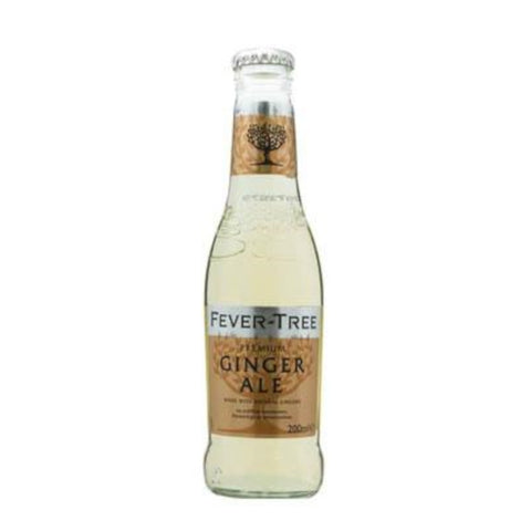 Fever Tree Premium Ginger Ale (Pack of 12)