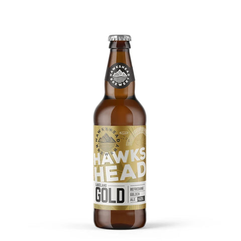 Hawkshead Lakeland Gold 12 500ml Bottle Case