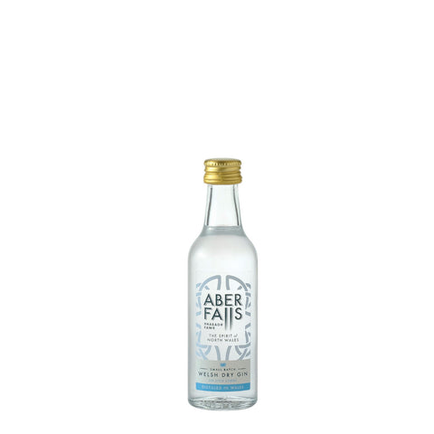 Aber Falls Welsh Dry Gin 5cl Miniature