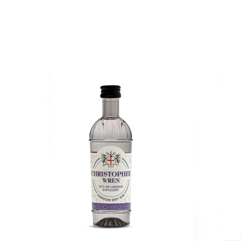 City of London Distillery Christopher Wren Gin 5cl Miniature