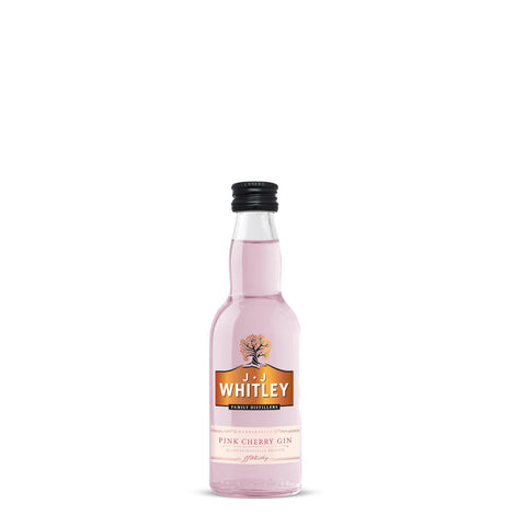 J.J Whitley Pink Cherry Gin 5cl Miniature