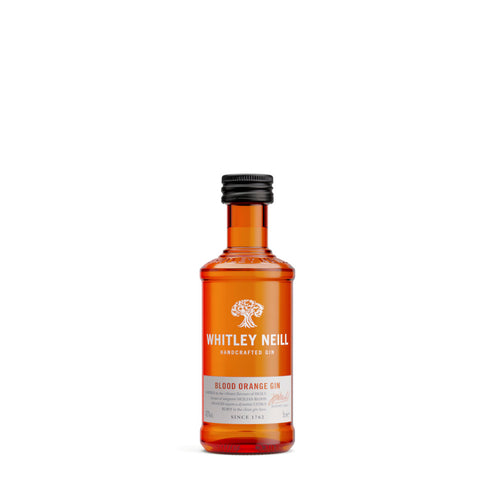 Whitley Neill Blood Orange Gin 5cl Miniature