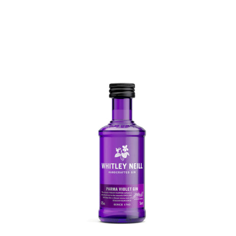 Whitley Neill Parma Violet Gin 5cl Miniature