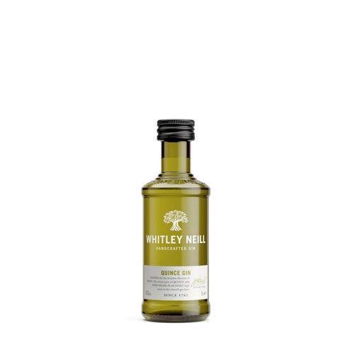 Whitley Neill Quince Gin 5cl Miniature