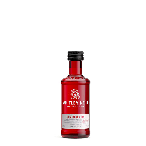 Whitley Neill Raspberry Gin 5cl Miniature